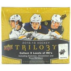 2018-19 Upper Deck Trilogy Hockey Hobby Box