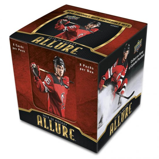 2019-20 Upper Deck Allure Hockey Hobby Box