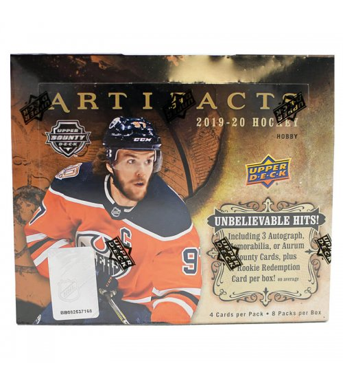 2019-20 Upper Deck Artifacts Hockey Hobby Box
