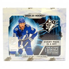 2019-20 Upper Deck SPx Hockey Hobby Box