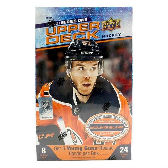 2020-21 Upper Deck Series 1 Hockey Hobby Box