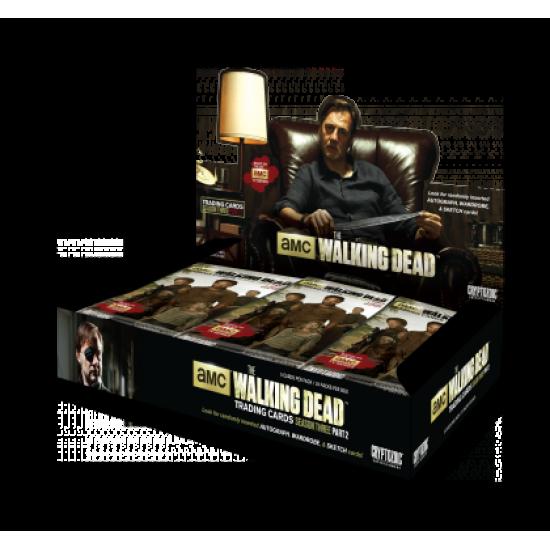 2014 Cryptozoic Walking Dead Season 3 Part 2 Hobby Box