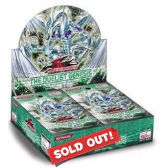 Yu-Gi-Oh Booster Box - The Duelist Genesis English Edition
