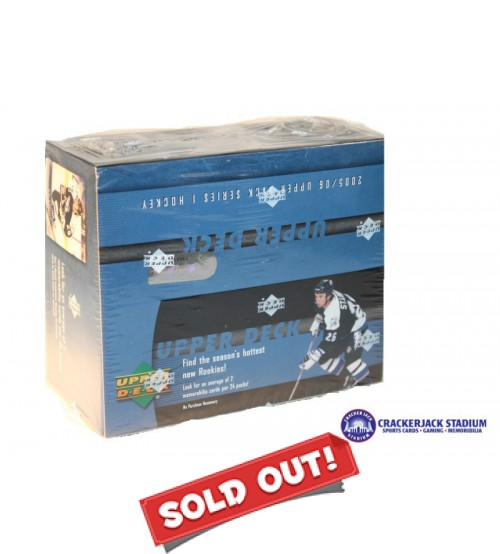 2005/06 Upper Deck Series 1 Hockey Retail Box