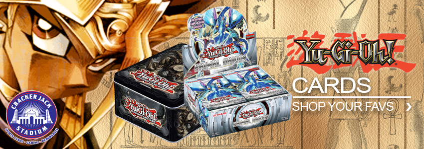 Yu-Gi-Oh! Gaming Cards | Crackerjack Stadium