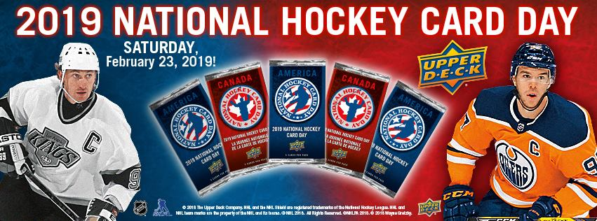 2019 Upper Deck National Hockey Card Day